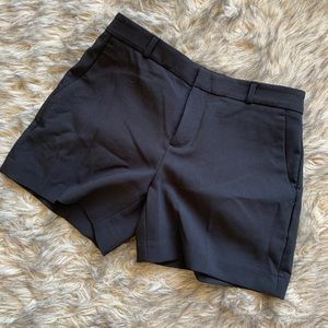Form Fitting Black Banana Republic Shorts